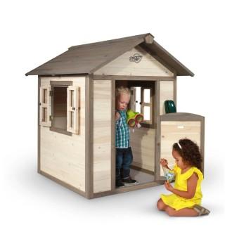 Maison de jeu Lodge en bois pour enfants SUNNY