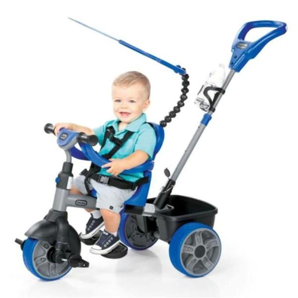Tricycle 4 En 1 Bleu Little Tikes - Photo n°2