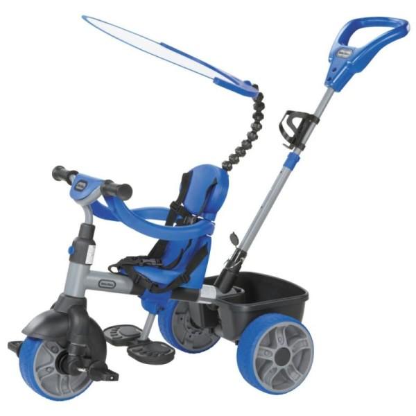 Tricycle 4 En 1 Bleu Little Tikes - Photo n°1