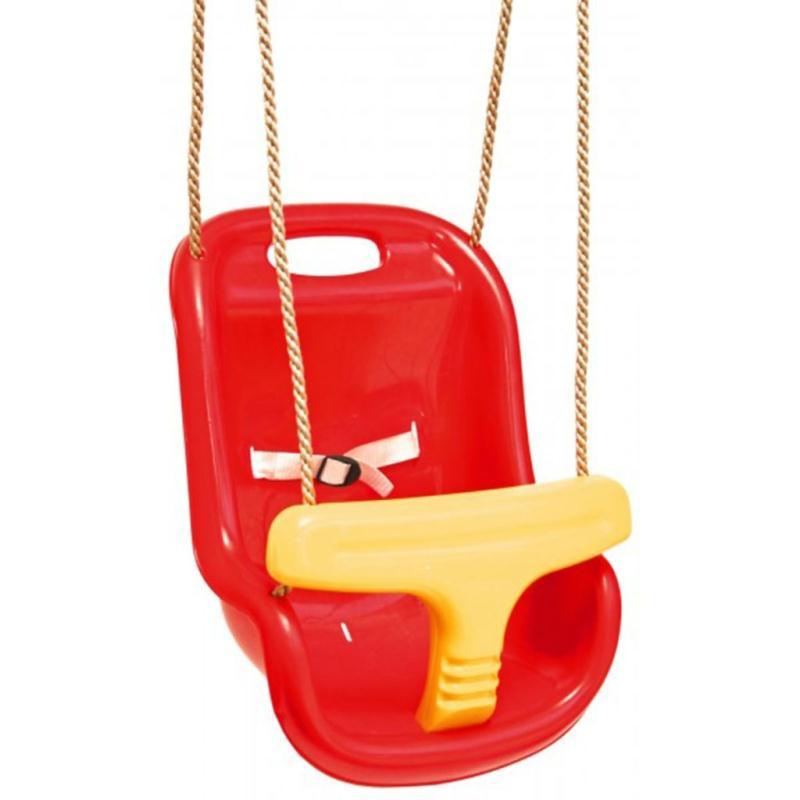 si ge balan oire b b rouge jaune swing king jeux et jouets plein air creavea. Black Bedroom Furniture Sets. Home Design Ideas