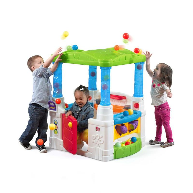 step2 wonderball cabane pour enfants en plastique. Black Bedroom Furniture Sets. Home Design Ideas
