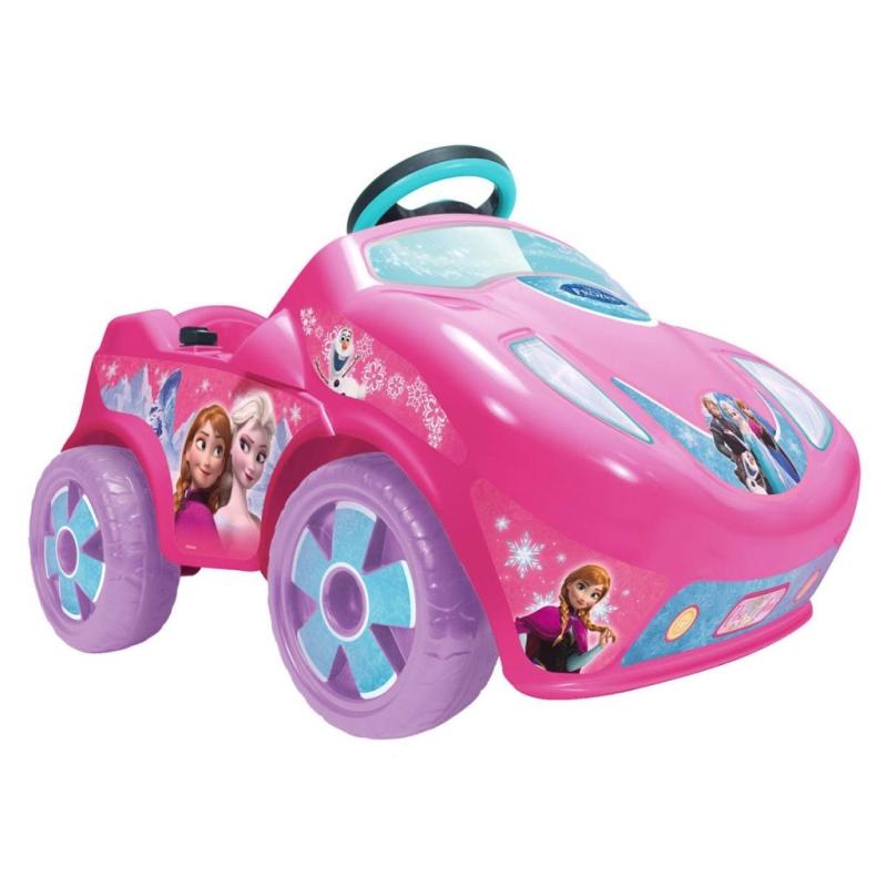 voiture lectrique pour enfant 6 v la reine des neiges injusa 71688 jouets mixtes creavea. Black Bedroom Furniture Sets. Home Design Ideas
