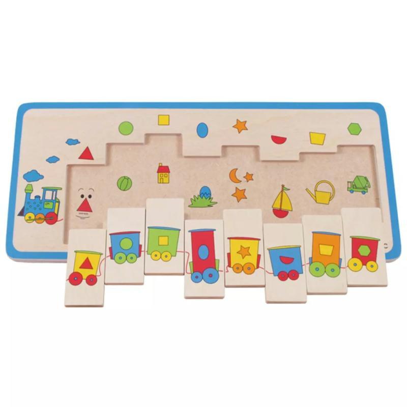 puzzle train puzzle pour enfant creavea. Black Bedroom Furniture Sets. Home Design Ideas