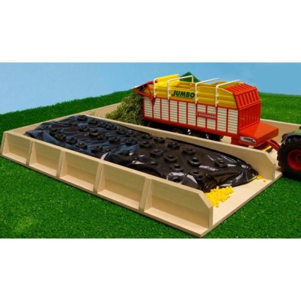 Kids Globe Fosse D'ensilage Pour Tracteur 1:32 610451 - Photo n°2