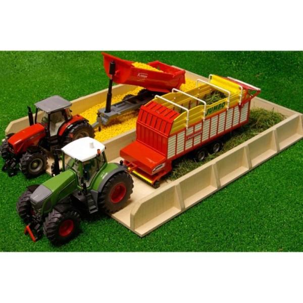 Kids Globe Fosse D'ensilage Pour Tracteur 1:32 610451 - Photo n°3