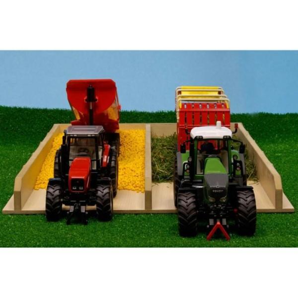 Kids Globe Fosse D'ensilage Pour Tracteur 1:32 610451 - Photo n°5