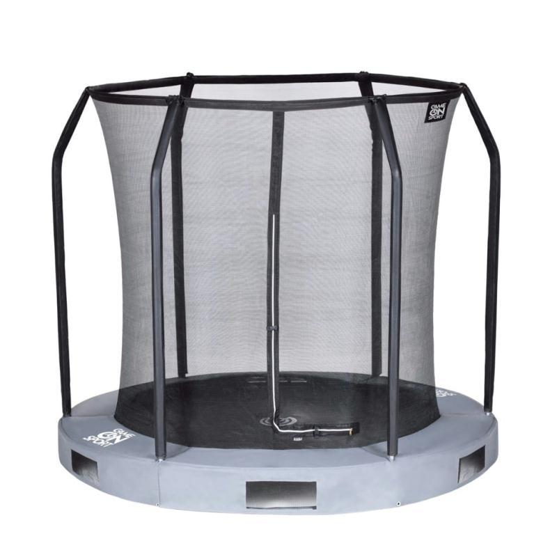 game on sport filet de s curit pour trampoline enterr. Black Bedroom Furniture Sets. Home Design Ideas