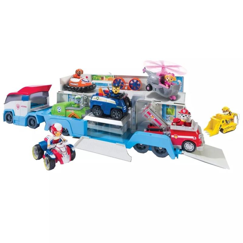 paw patrol camion voitures paw patroller 6024966. Black Bedroom Furniture Sets. Home Design Ideas