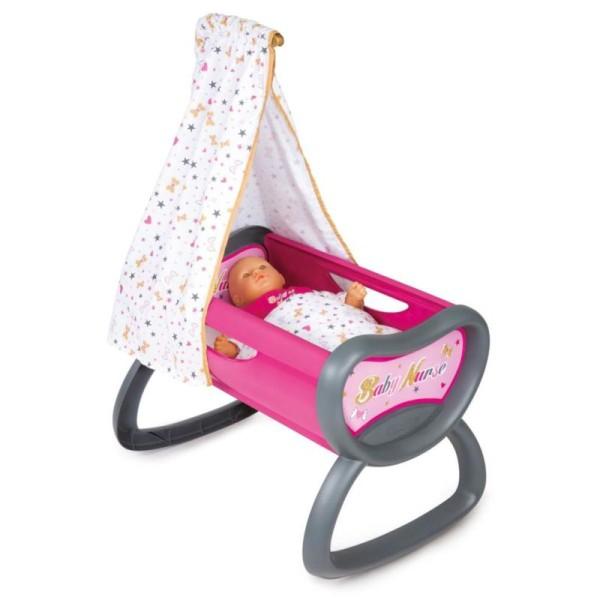 Smoby Berceau Baby Nurse 37 X 55 X 76cm 220311 - Photo n°1