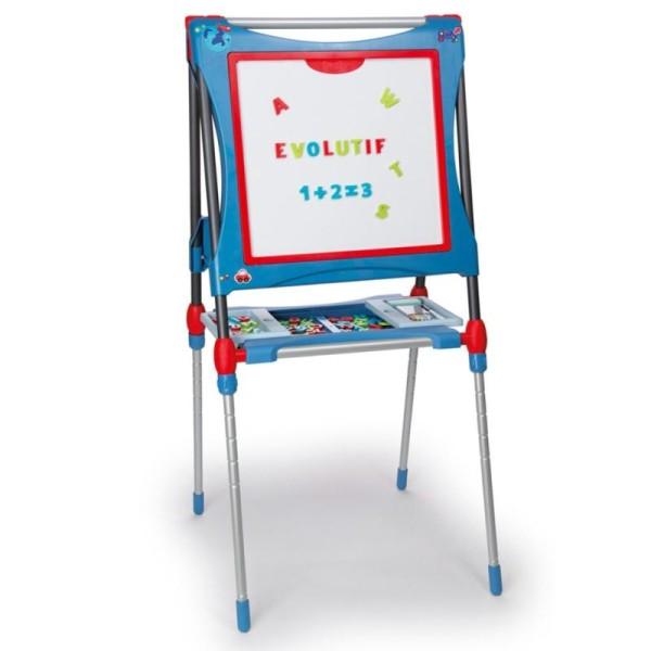 Smoby Double Chevalet Réglable Pour Enfants Bleu 410202 - Photo n°5