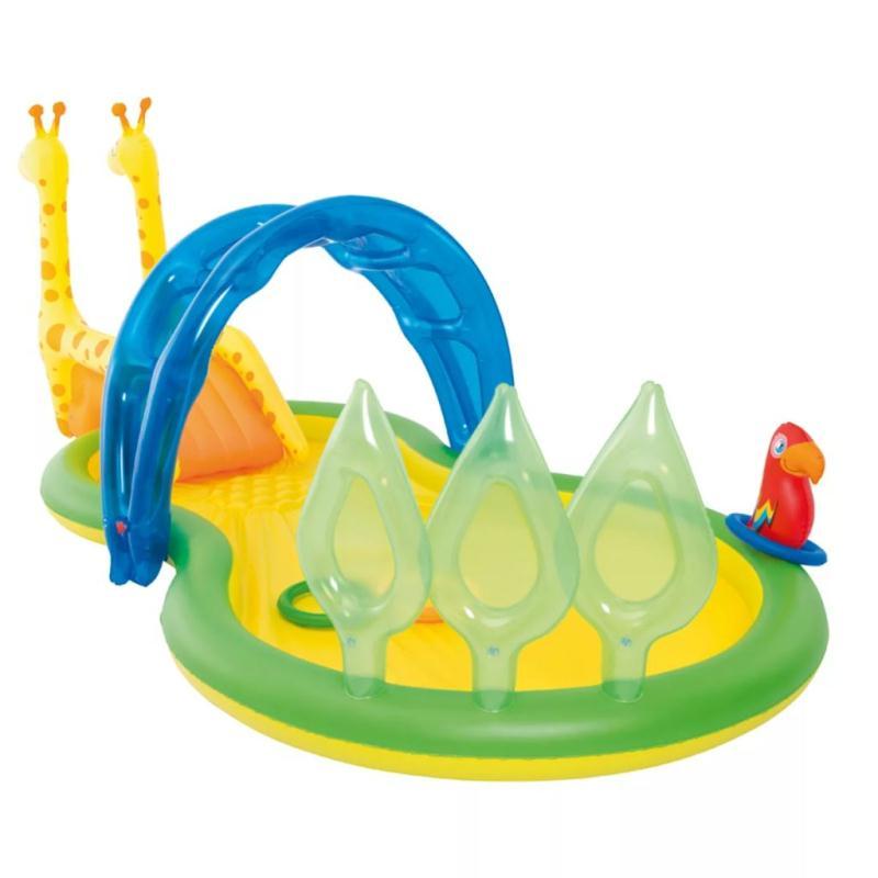 bestway aire de jeux aquatique zoo 338 x 167 x 129 cm jeux et jouets plein air creavea. Black Bedroom Furniture Sets. Home Design Ideas