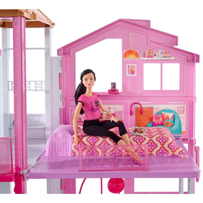 Barbie maison de poup es 3 tages dvv47 poup es et for Aventures de maison