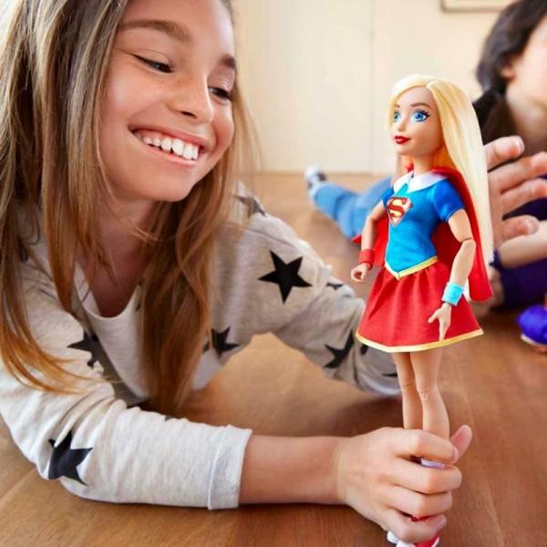 Dc Super Hero Girls Poupée Supergirl Dlt63 - Photo n°2
