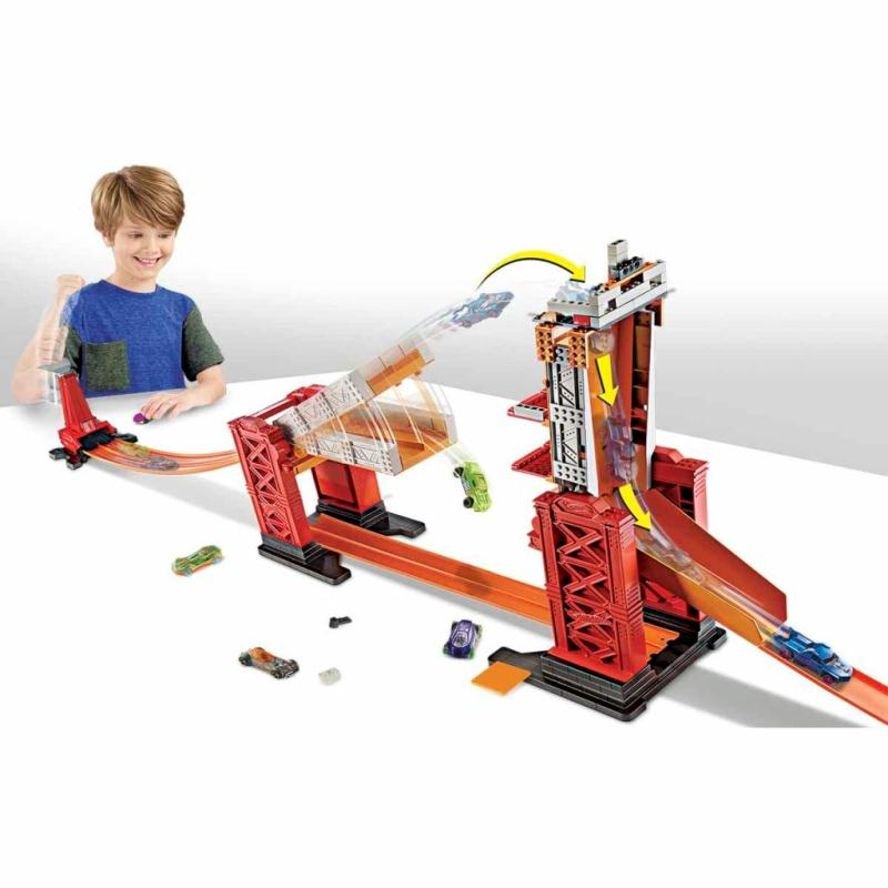 hot wheels kit de circuit de voiture jouet dww97 jouets. Black Bedroom Furniture Sets. Home Design Ideas