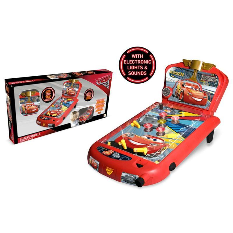imc toys jeu de flipper cars 3 rouge im250116 jeux de soci t creavea. Black Bedroom Furniture Sets. Home Design Ideas