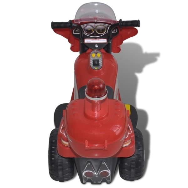 vidaxl moto chevaucher sur piles rouge jouets mixtes creavea. Black Bedroom Furniture Sets. Home Design Ideas
