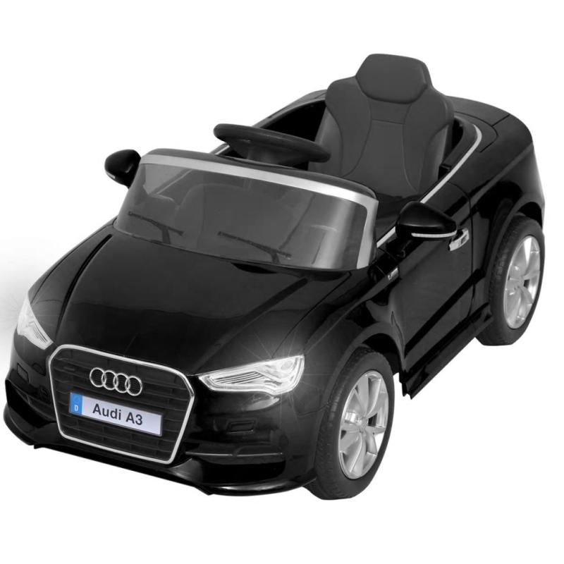 vidaxl voiture lectrique pour enfants t l command e audi a3 noir jouets mixtes creavea. Black Bedroom Furniture Sets. Home Design Ideas