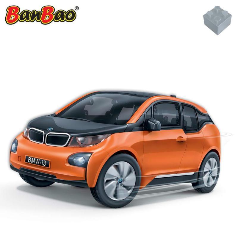 bmw i3 orange banbao 6802 2 jeux de construction creavea. Black Bedroom Furniture Sets. Home Design Ideas