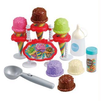 Playgo Ensemble de jeu pour enfants Ice Cream Parlor 23 pièces
