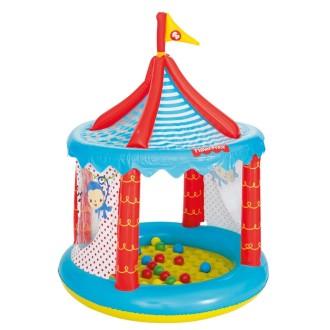 Bestway Piscine à Boules En Forme De Cirque Fisher Price 104 X 137 Cm