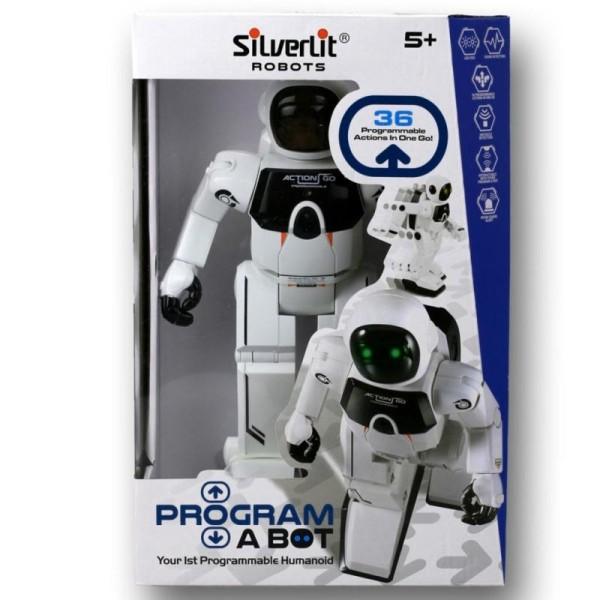Silverlit Robot Program-A-Bot Blanc SL88429 - Photo n°1