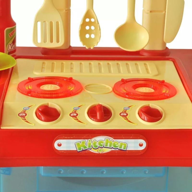 Cuisine jouet pour enfants avec effets lumineux sonores jeux d 39 imitation creavea - Jouet cuisine pour enfant ...