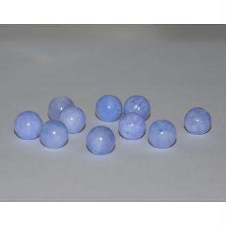 10 Perles Jade Naturelle Violet Marbré 8mm (W1)