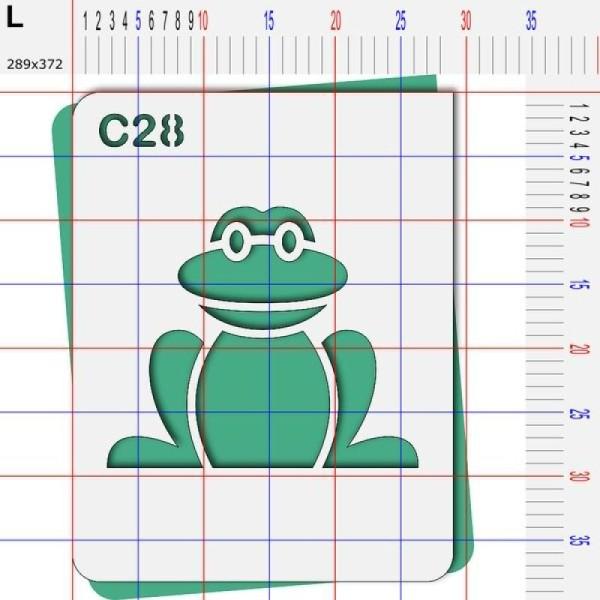Pochoir grenouille - 4 tailles au choix - Photo n°5