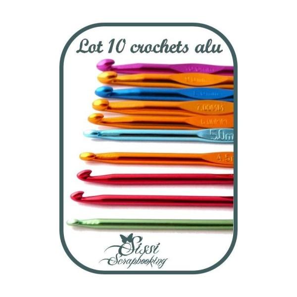 MAXI Crochets grandes tailles au choix ou par LOT