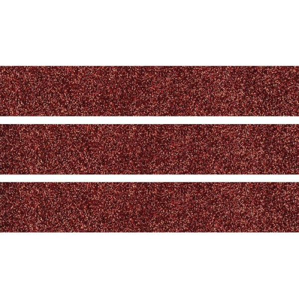 Ruban Adhesif Masking Tape 'Artemio' Rouge Glitter Fì_Te Deco Customisation Paillete 5M X 15 mm - Photo n°1