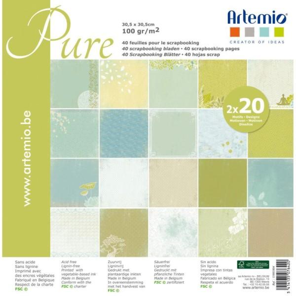 Bloc Zen Assortiment 30X30cm 'Artemio'  40 Pages Theme Zen - Photo n°1
