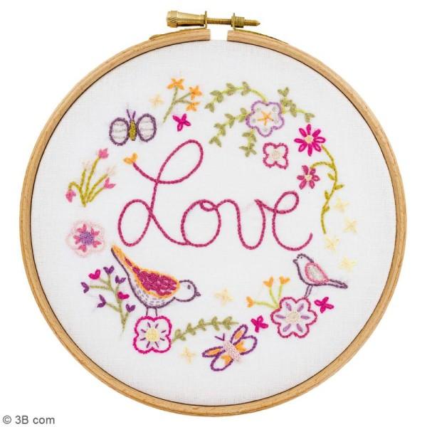 Kit broderie - Love love love - Photo n°2