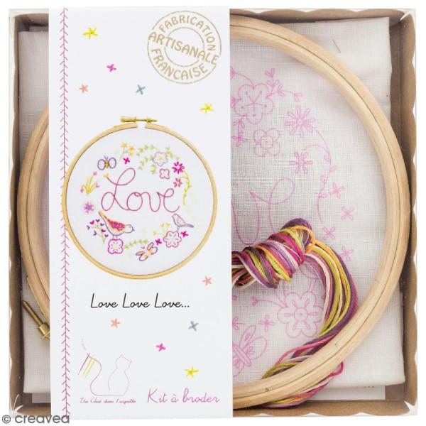 Kit broderie - Love love love - Photo n°1