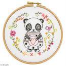 Kit broderie - Sacha le panda - Photo n°2
