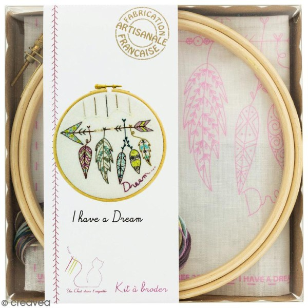 Kit broderie - I have a dream - Photo n°1