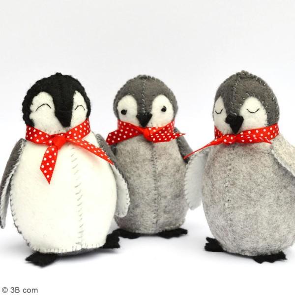 Kit feutrine - Bébés pingouins - Photo n°2