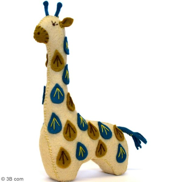 Kit feutrine - Girafe - Photo n°2