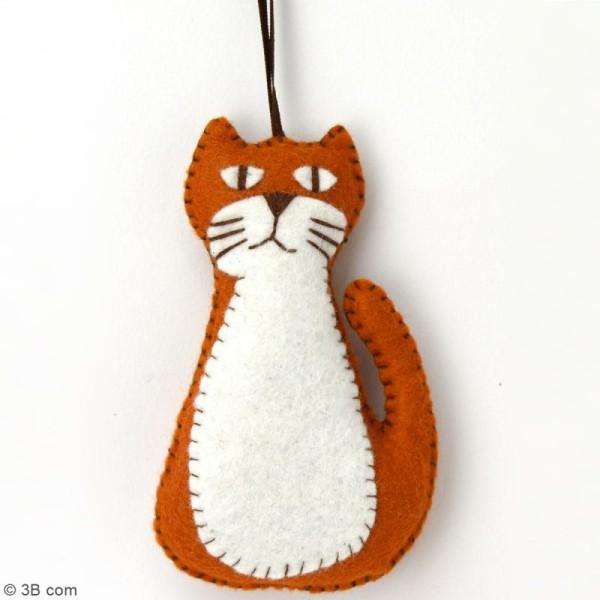 Mini Kit feutrine - Le chat roux - Photo n°2
