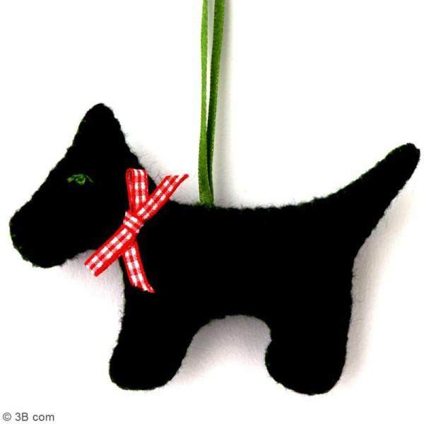 Mini Kit feutrine - Le chien noir - Photo n°2