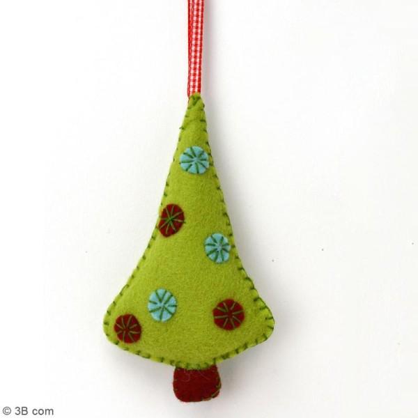 Mini Kit feutrine - L'arbre de Noël - Photo n°2