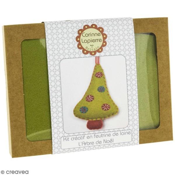 Mini Kit feutrine - L'arbre de Noël - Photo n°1