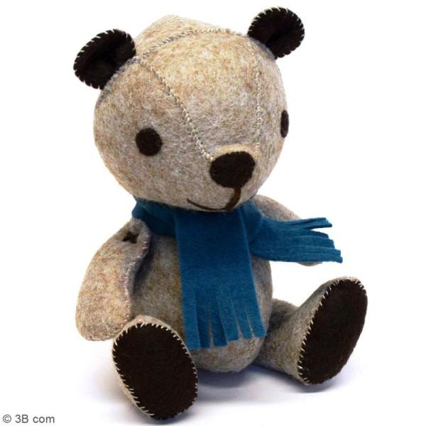 Kit feutrine - Teddy le nounours rétro - Photo n°2
