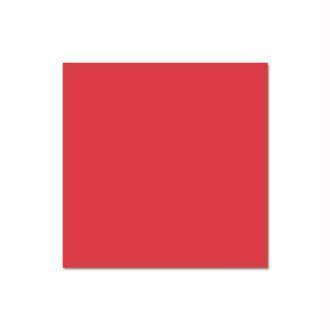 Papier Pollen carte 135 x 135 Rouge groseille x 25