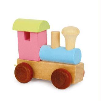 Locomotive coloré