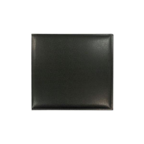 Maxi Album Effet Cuir Similicuir Noir Black 30X30cm Grace Taylor Mariage Bapteme Naissance - Photo n°1