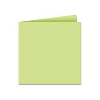 Papier Pollen carte double 135 x 135 Vert x 25