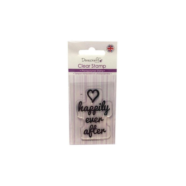 Lot Tampon Happily Ever After Amour Love Scrapbooking Scrap Carte Clear Stamp - Photo n°1