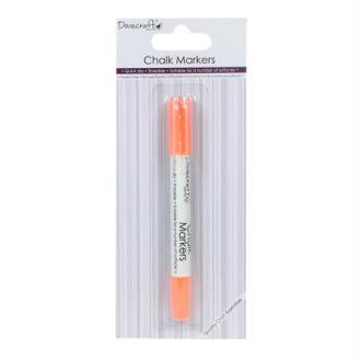 Marqueur Feutre Craie Chalk Markers Orange Fluo Sechage Rapide Effaçable Multi Surfaces