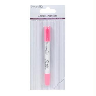 Marqueur Feutre Craie Chalk Markers Rose Sechage Rapide Effaçable Multi Surfaces