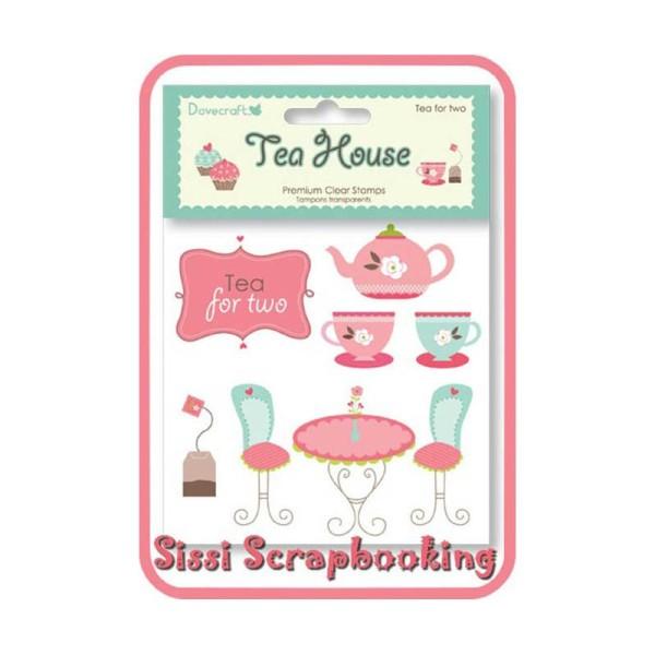 Lot 8 Tampon Transparen‰Ûüt Cupcake The Fleur Scrapbooking - Photo n°1